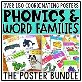 Phonics Posters & Word Family Posters Bundle