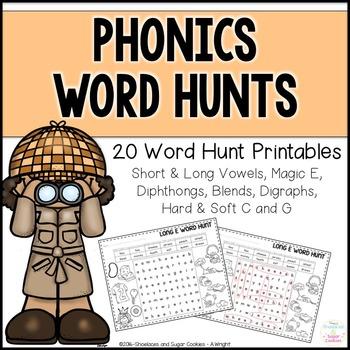 Phonics Word Hunts
