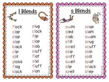 Journeys Phonics Word Work Lists Units 1 & 2 First Grade