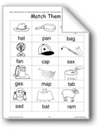 Phonics: Word/Picture Matching Cards