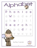 Phonics Word Search: Alphabet