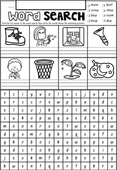 Phonics Word Search Puzzles BUNDLE in NSW Foundation Font ACARA Aligned