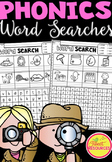 Phonics Word Search Puzzles BUNDLE in NSW Foundation Font