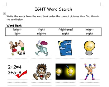 PHONICS - Learning New Words with Pictures, Spelling Pract