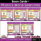 Phonics Word Search and Type - Long Vowels Boom Cards Dist