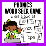 Phonics Word Seek Game CVC-E Words