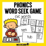 Phonics Word Seek Game CVC Words