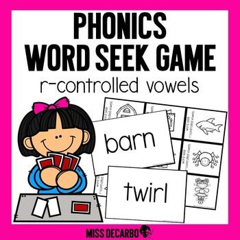 Phonics Word Seek Game R-Controlled Vowels