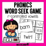 Phonics Word Seek Game R-Controlled Vowels