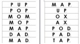 Phonics Word Slide (Animated Literacy Lessons 1 - 25)