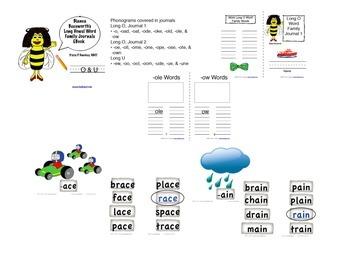 Word Sorts Bundle: Long Vowels (Cut and Paste )