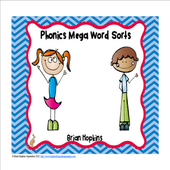 Phonics Word Sort Mega Packet