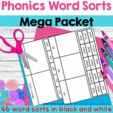 Phonics Word Sort Mega Packet