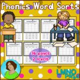 Phonics Word Sorts 2 Levels