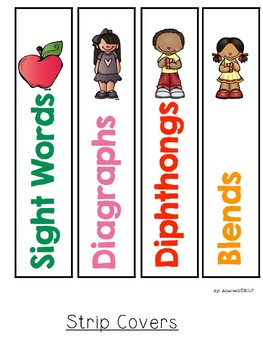 Phonics Strips and Sight word Strips