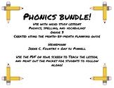 Phonics/Word Study Heinemann (Fountas and Pinnell) Grade 3