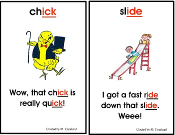 Word Family Rhymes Posters and Book