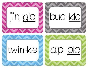 Phonics Word Wall Cards Bundle