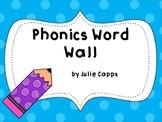 Phonics Word Wall Headers