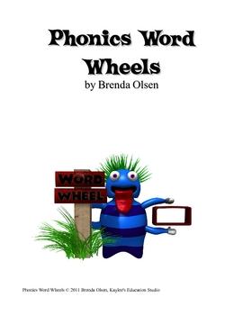 Phonics Word Wheels