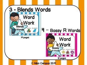 Phonics Word Work Bundle