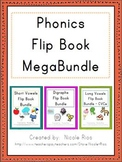 Phonics Word Work Flip Books MegaBundle
