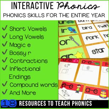 Phonics and Word Work Bundle: Sorts, Worksheets & Activities