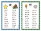 Journeys Phonics Word Work Lists Units 5 & 6 First Grade
