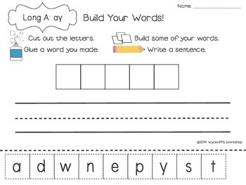 Phonics Word Work Sorts and Such