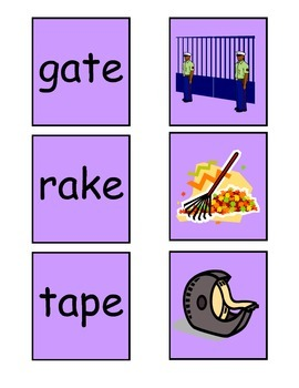 Phonics Word and Picture Match