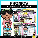 Phonics Workbook BUNDLE {1st - 2nd Grade}