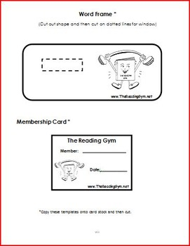 Phonics Workout Sessions with Silent-E - word lists and sentences