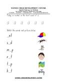 Phonics Worksheet Letter Short Vowel A