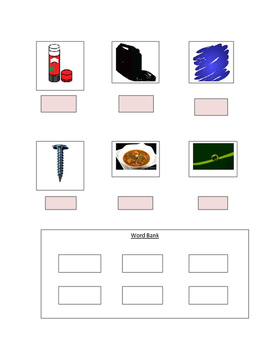 Phonics Worksheet with Long U Words For The Non-Writer