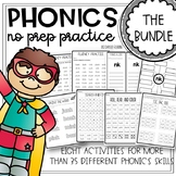 Phonics Worksheets Games and Activities for the Whole Year 2