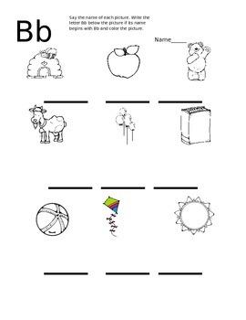Phonics Worksheets A-Z
