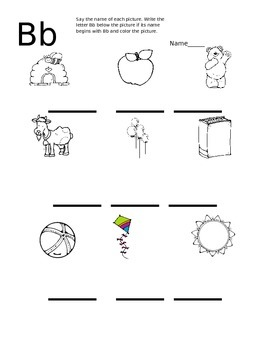 Phonics Worksheets A-Z