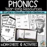 Phonics Worksheets for Kindergarten | 1st Grade
