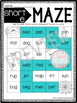 CVC Worksheets- Phonics Word Mazes