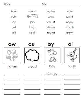 Phonics Worksheets... Digraphs, Blends, and More!
