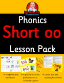 Phonics Worksheets, Flashcards   Jolly Phonics Letter Short oo Lesson Pack