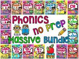 Phonics Worksheets No Prep Massive MEGA Bundle