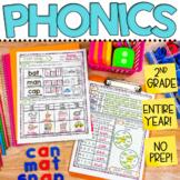 2nd Grade Phonics Worksheets | Daily Phonics Activities Bundle