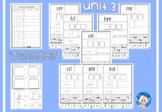 Phonics Worksheets - Unit 3
