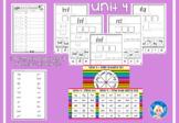 Phonics Worksheets - Unit 4