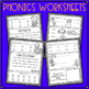 Phonics Worksheets and Phonics Based Fluency~ Unit 1 SAMPLE