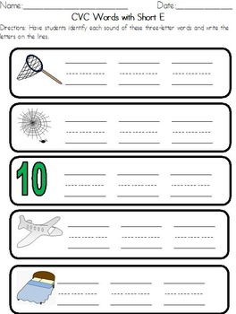Phonics Worksheets and Sound Cards: CVC words, CVCe words, Digraphs, Blends!