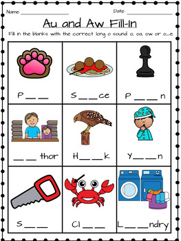 Phonics Bundle for First Grade