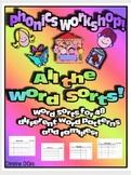 Phonics Workshop - Just Word Sorts