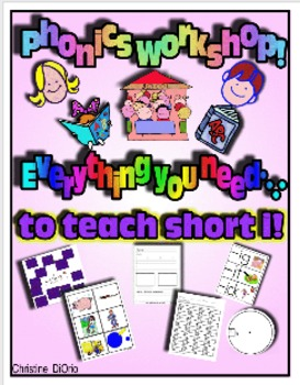 Phonics Workshop - Short i - everything you need!